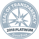 GuideStar Seal of Transparency 2018