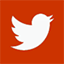 icon twitter square red 64x