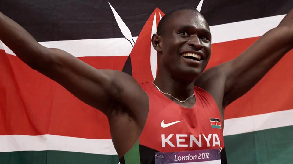 David Rudisha answers challenge from mentor