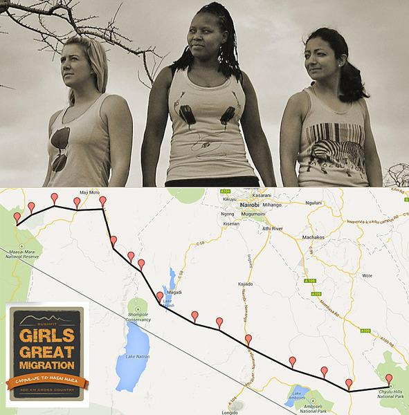 131105 1 1 3 Girls to Run 14 Marathons in 14 Days to Raise Funds to Protect Kenyan Wildlife Including for Big Life