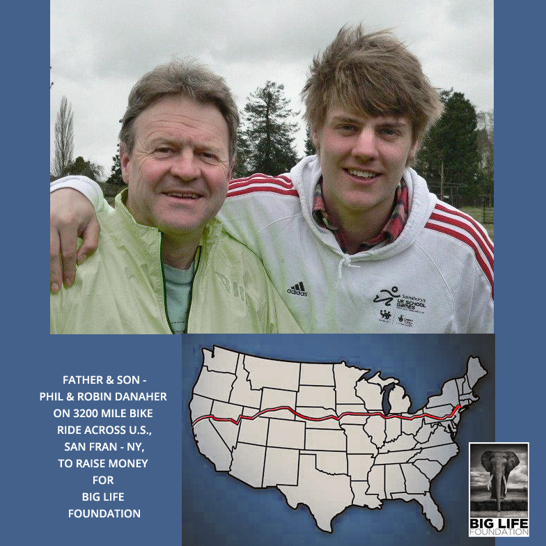 130405 1 1 Father and Son Cycling 3200 Miles Across United States to Raise Money for Big Life Foundation