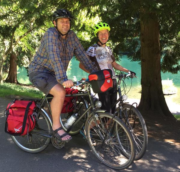 160630 1 1 Bike and Saddle Partners with Big Life in Portland to Portland Trek
