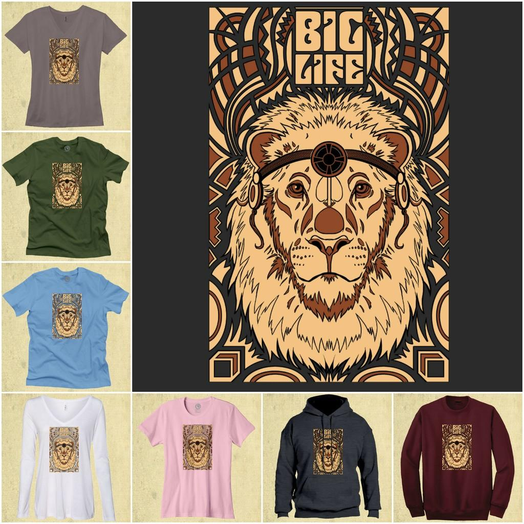 NEW DESIGN Big Life Merchandise Available for Limited Time