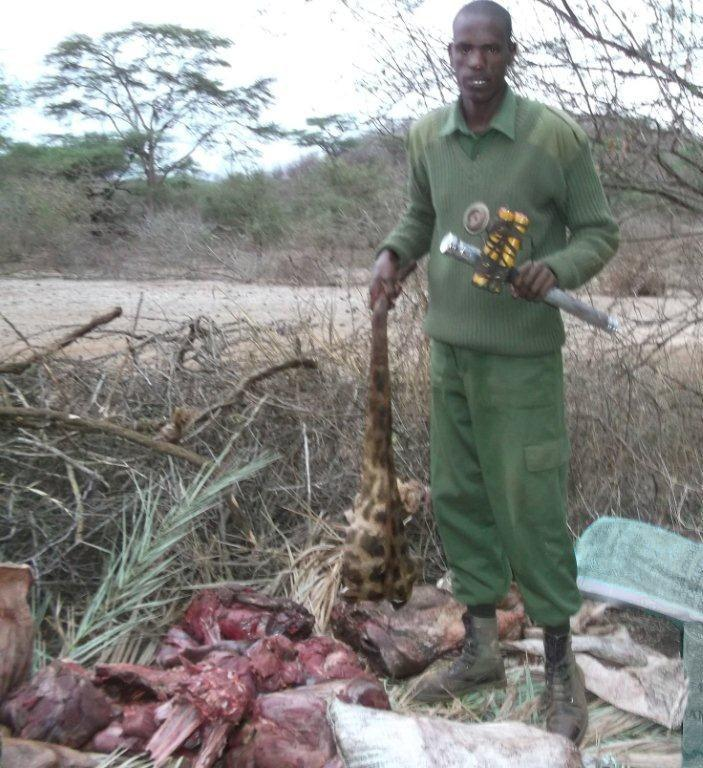 120926 1 1 Bush Meat Season in Full Force Big Life Catches 7 Poachers in 3 Days