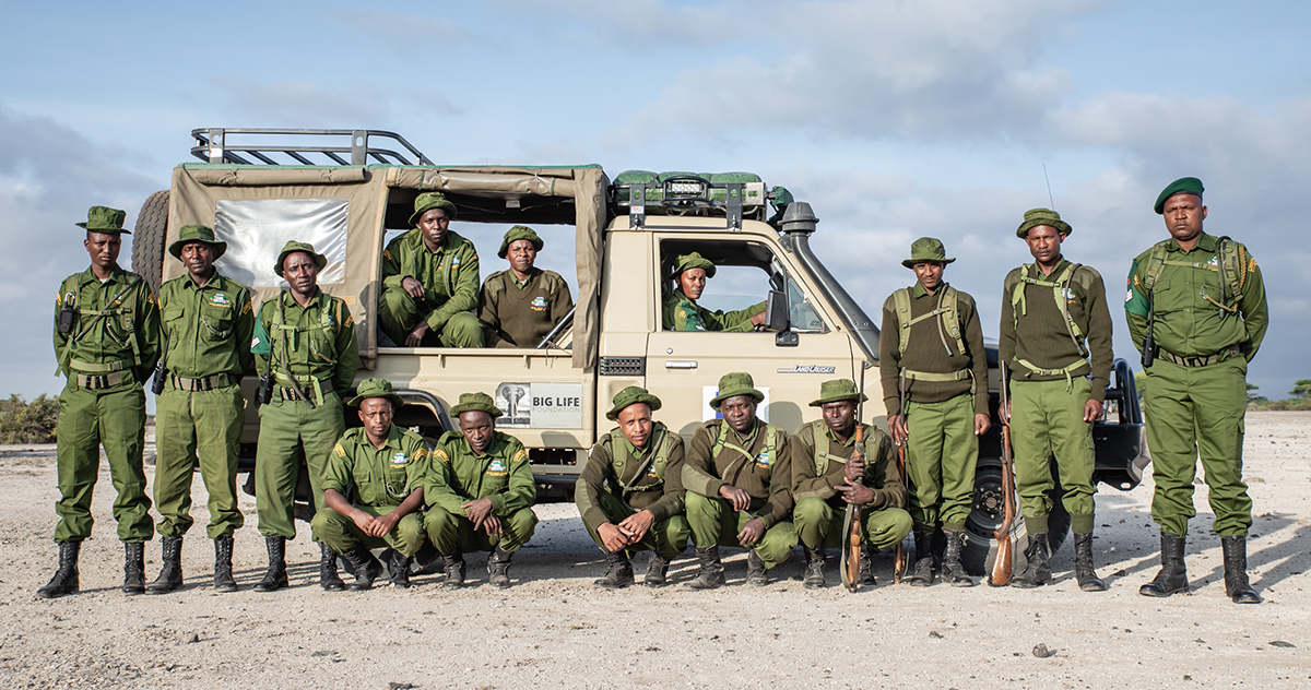 191208 Big Life Rangers work to protect wildlife in East Africa