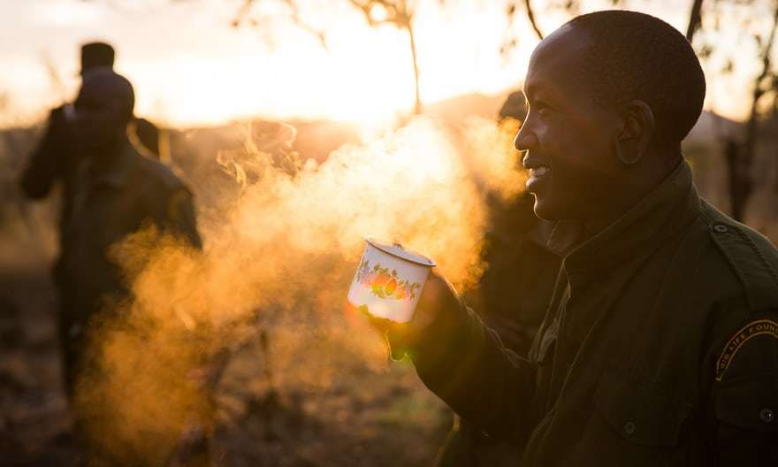 A Day in the Life of an Anti Poaching Ranger in Pictures